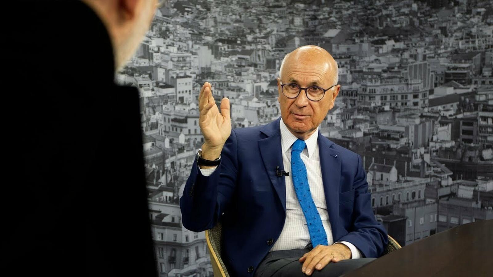 """Duran Lleida: """"Per trencar aquella fredor l'Aznar em diu: «¿Sabes el chiste del calvo?»"""""""