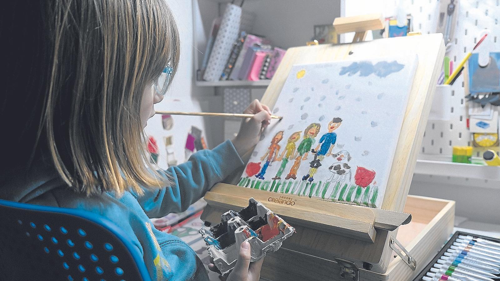 Els dibuixos dels infants diuen molt de les seves emocions
