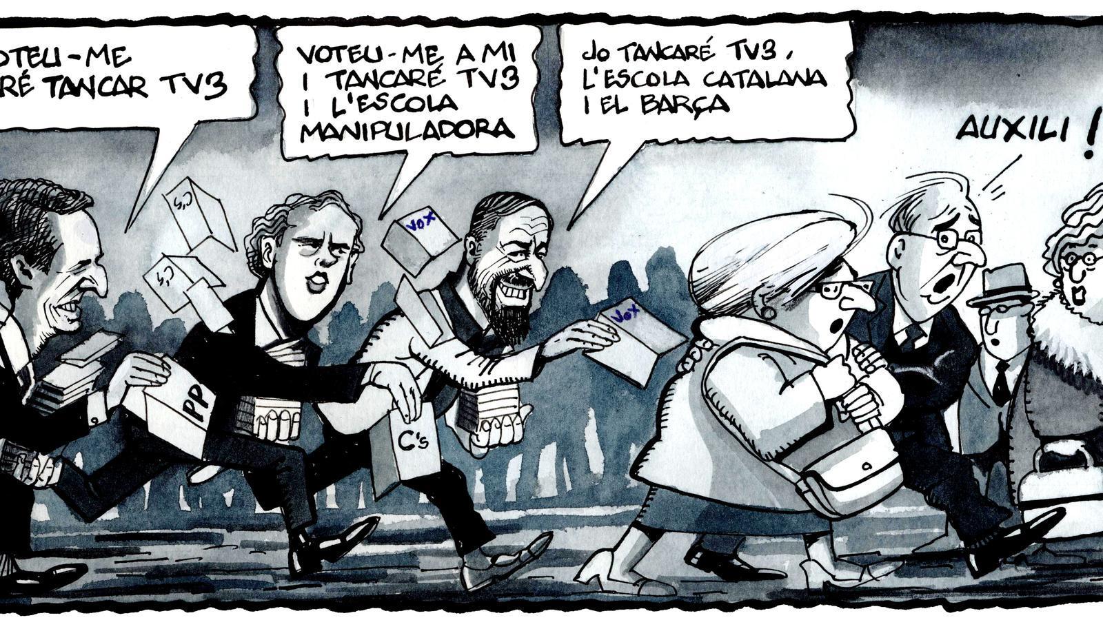 'A la contra', per Ferreres (26/04/2019)