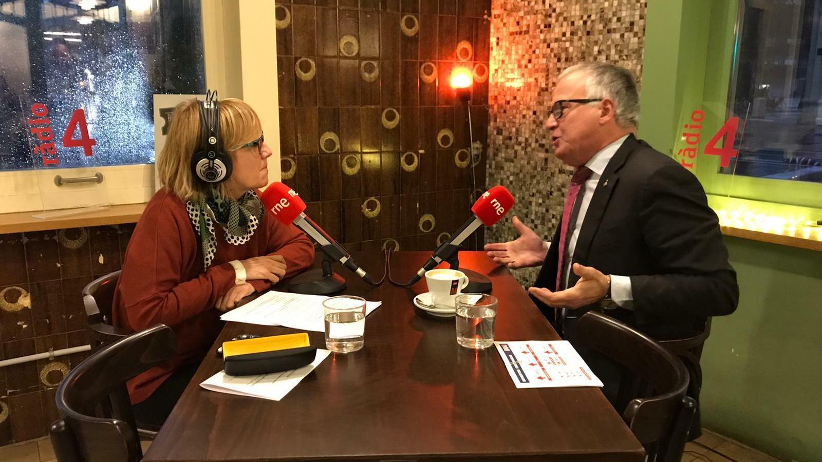 Gemma Nierga entrevista Josep Bou