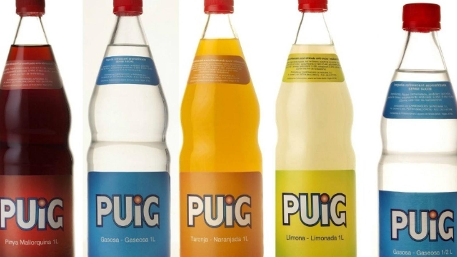 La nova beguda Puig Lemon ha adquirit la logística de Pep Lemon i pretén omplir el buit que ha deixat