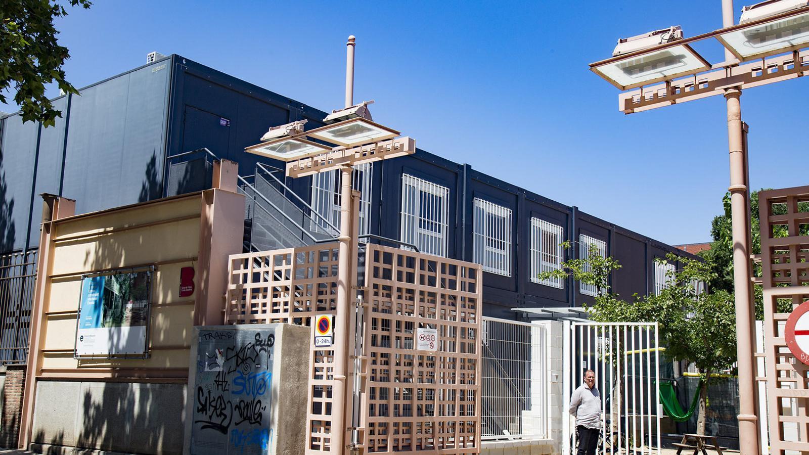 L'aturada d'obres impedirà que dues escoles de Barcelona comencin el curs a les ubicacions previstes
