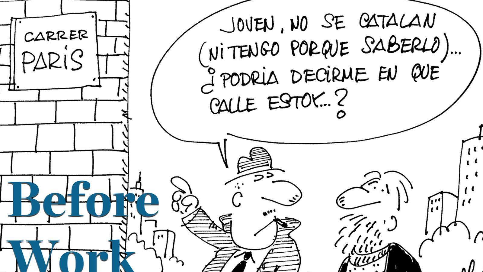 Before Work especial Perich: Antoni Bassas entrevista la seva néta i el dibuixant FER