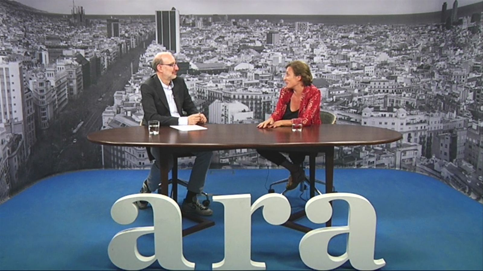 Entrevista d'Antoni Bassas a Clara Segura
