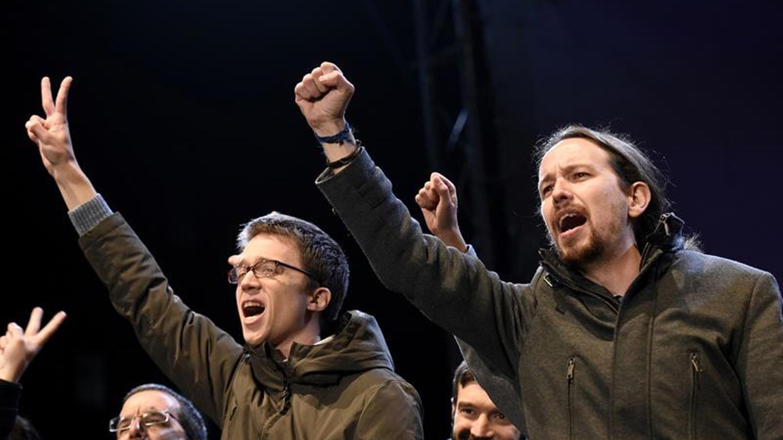 De rivals a aliats estratègics: el canvi d'equilibris interns a Podem