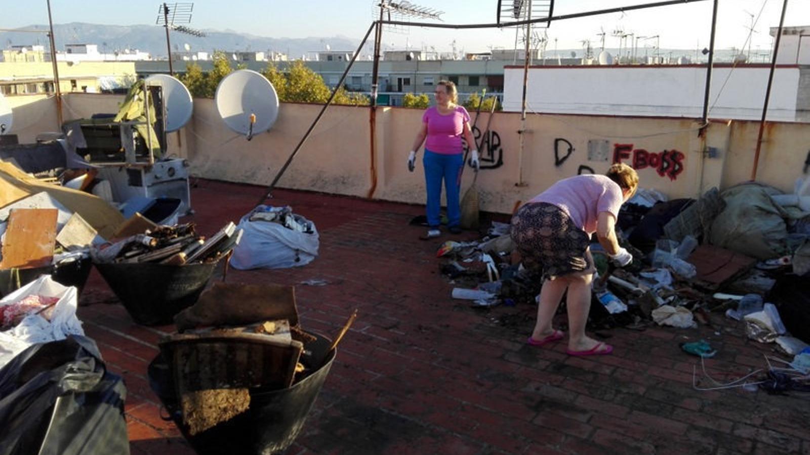 EMAYA i els veïns de Son Gotleu han  treballat en cinc finques aquests darrers mesos.