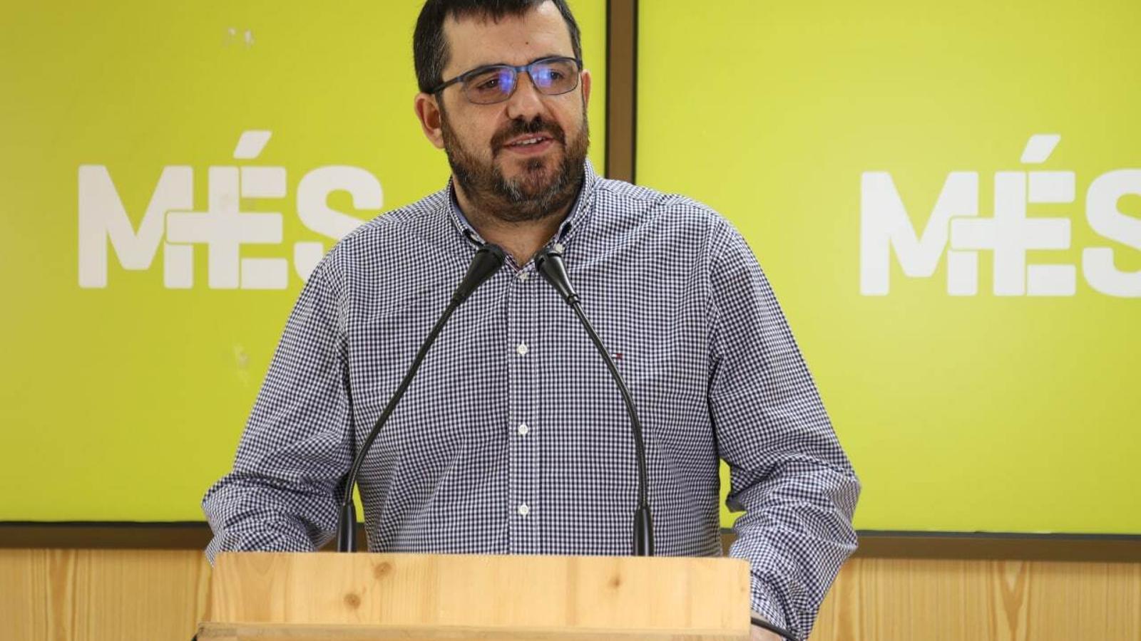 El senador autonòmic de MÉS per Mallorca, Vicenç Vidal