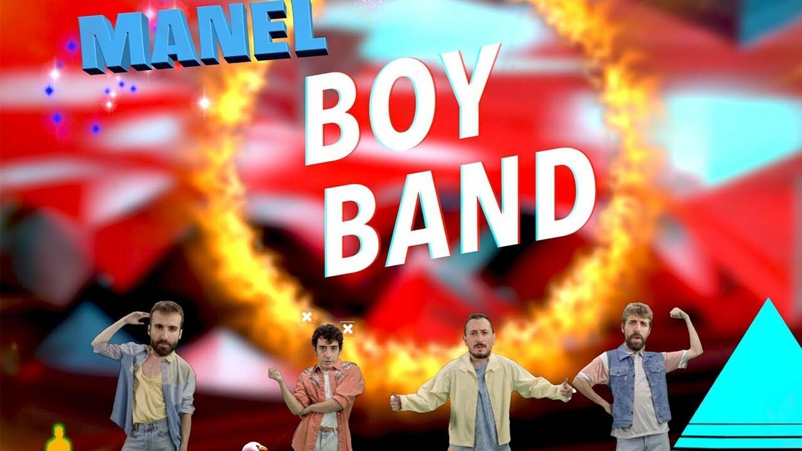 Manel, 'Boy band', videoclip