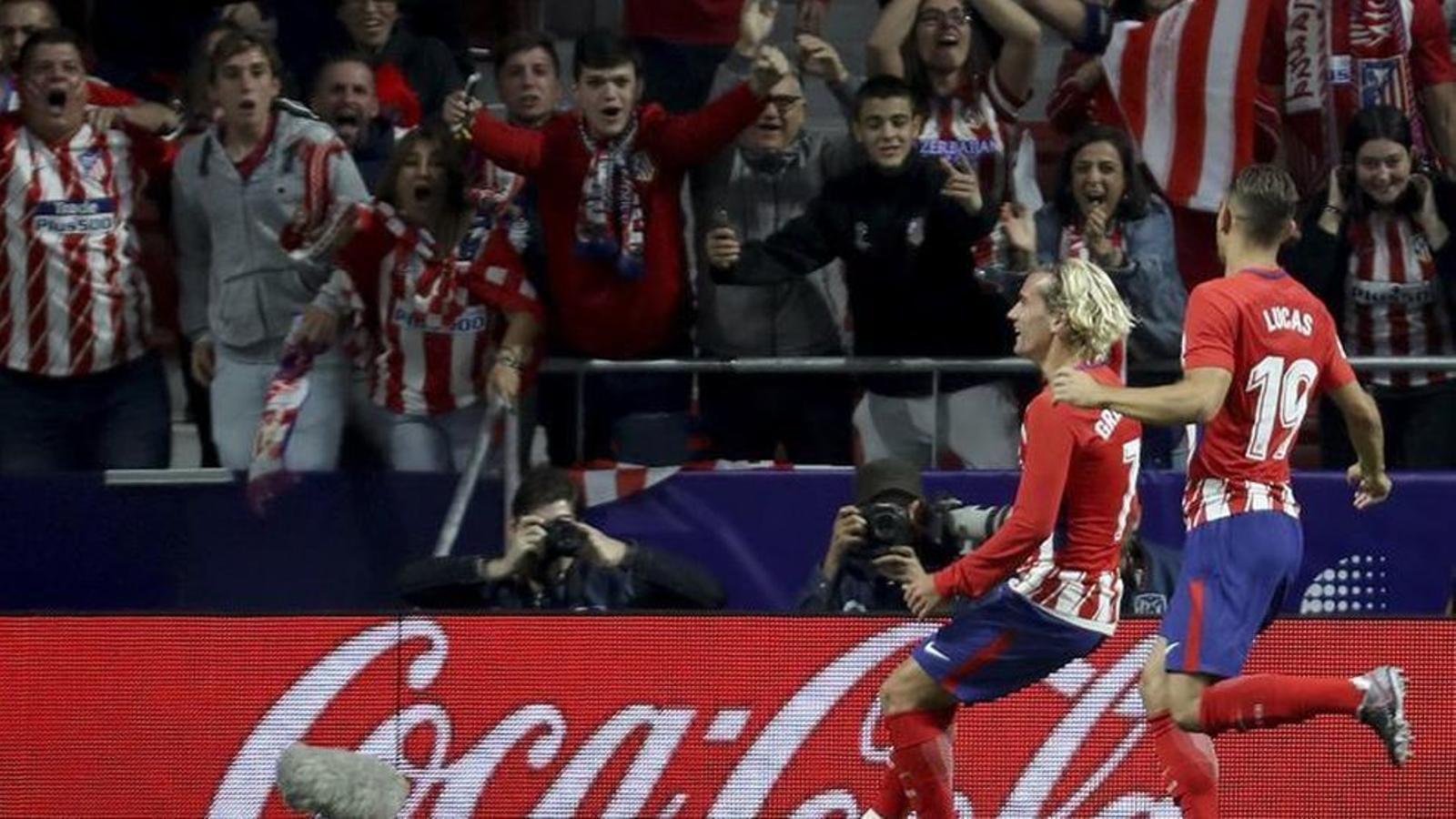 Griezmann, autor del primer gol al Wanda Metropolitano