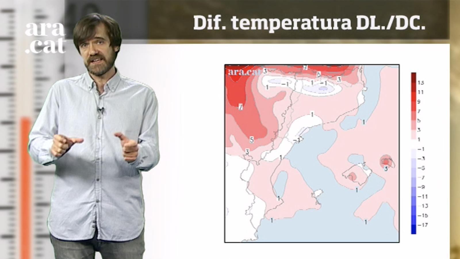 La méteo en 1 minut: calor intensa per primer cop aquest any