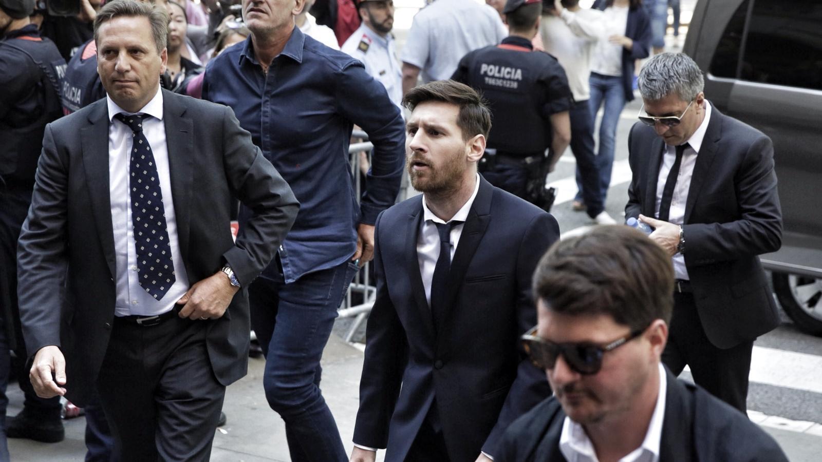 El Suprem ratifica la condemna de 21 mesos de presó a Messi