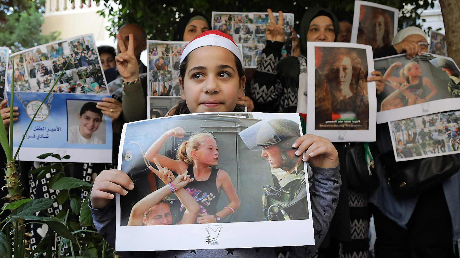 300 menors palestins empresonats a Israel