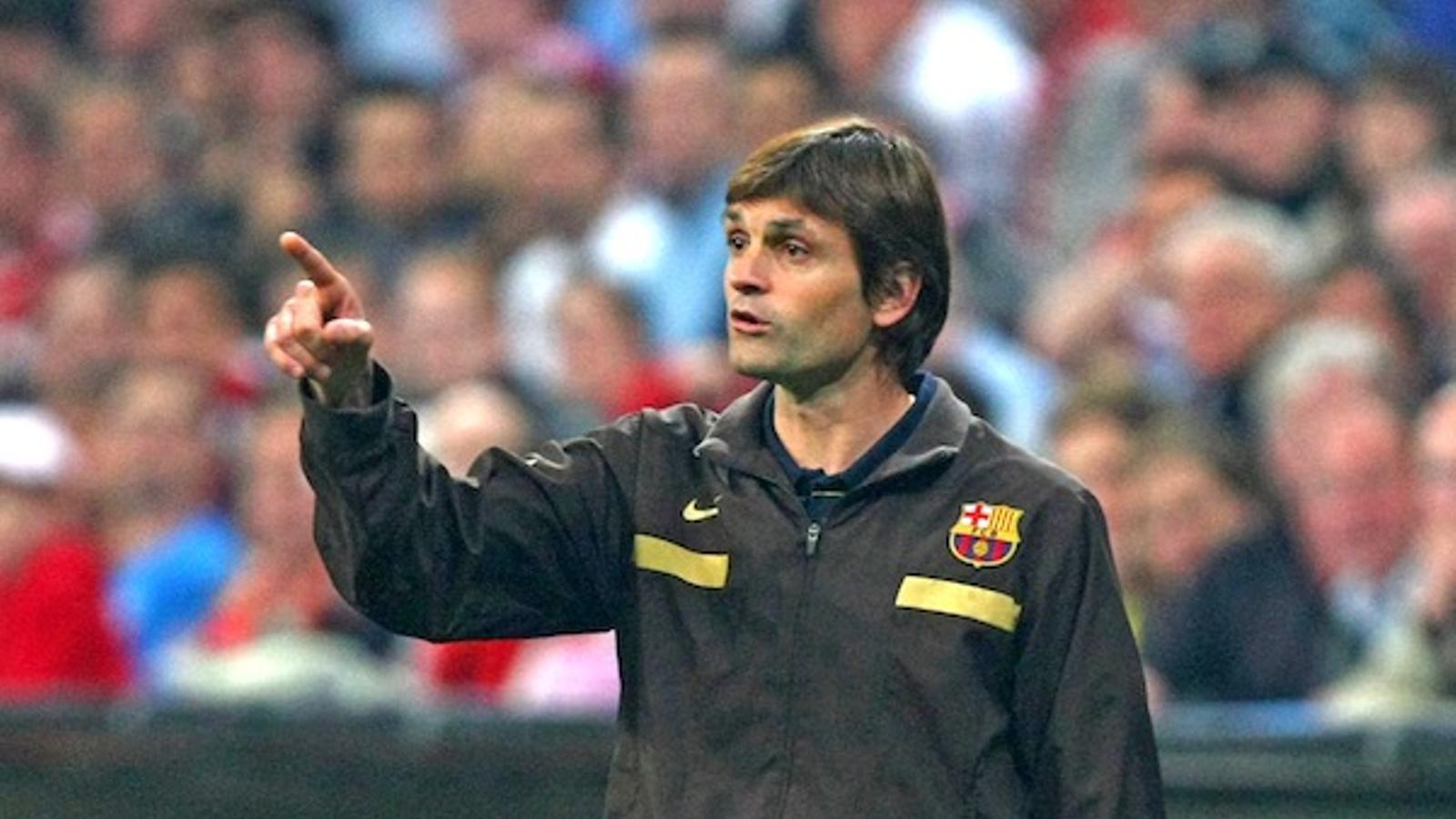 Tito Vilanova, nou entrenador del Barça / ALEXANDER HASSENSTEIN / BONGARTS / GETTY IMAGES