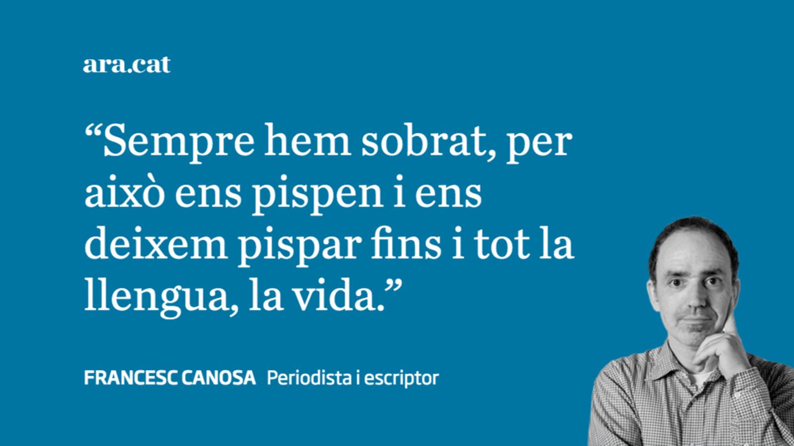 Pispar el català