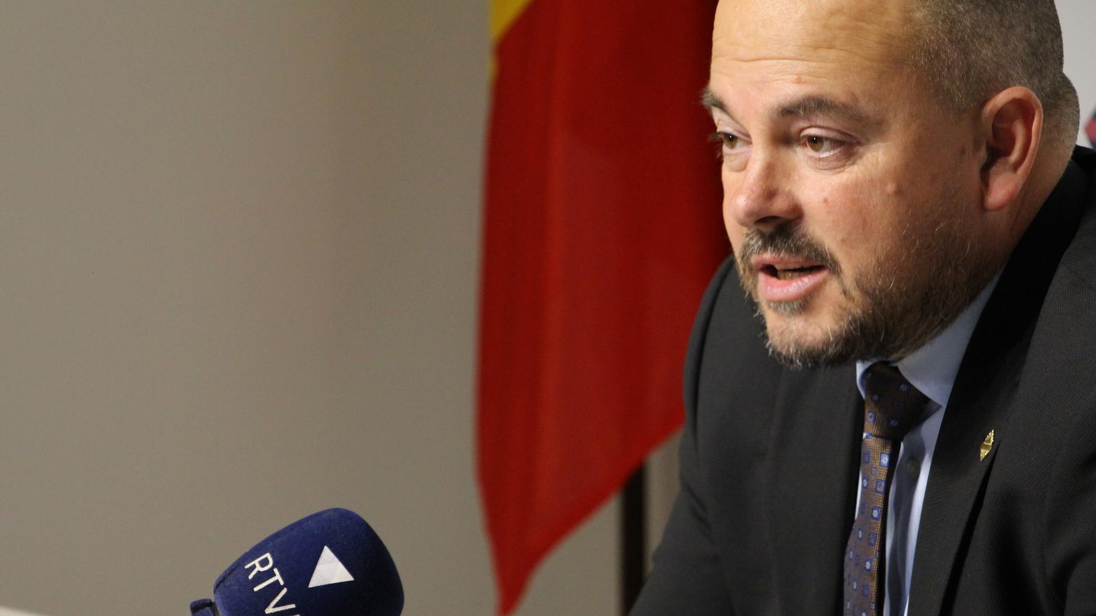Jordi Torres, cònsol major d'Encamp. / M. R. F.