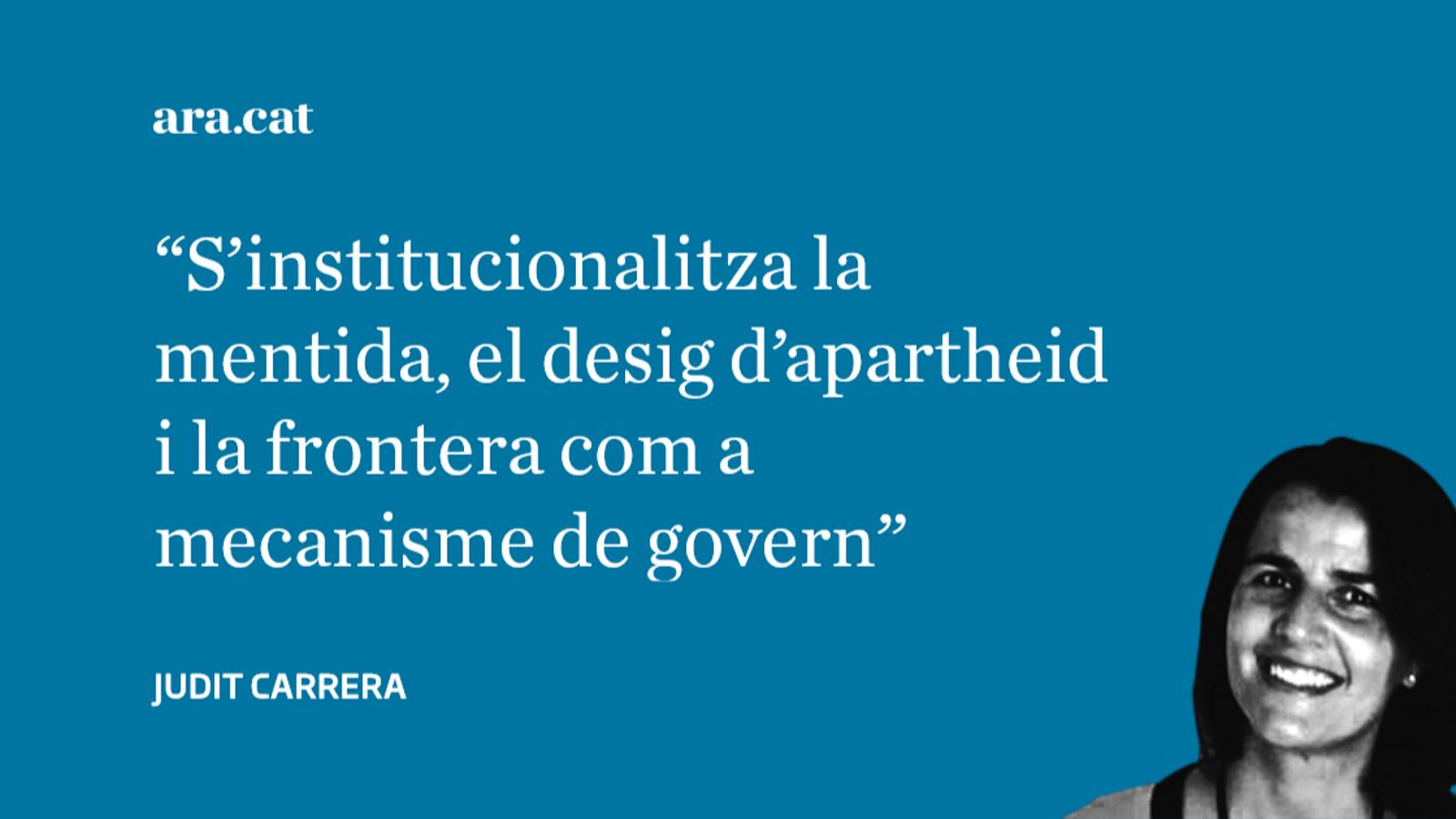 L'opinió de Judit Carrera: El dret a tenir drets