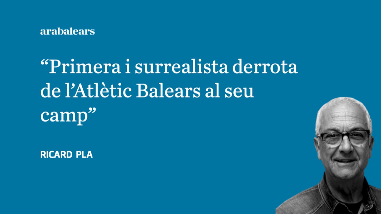 L'Eivissa sorprèn el líder a l'Estadi Balear