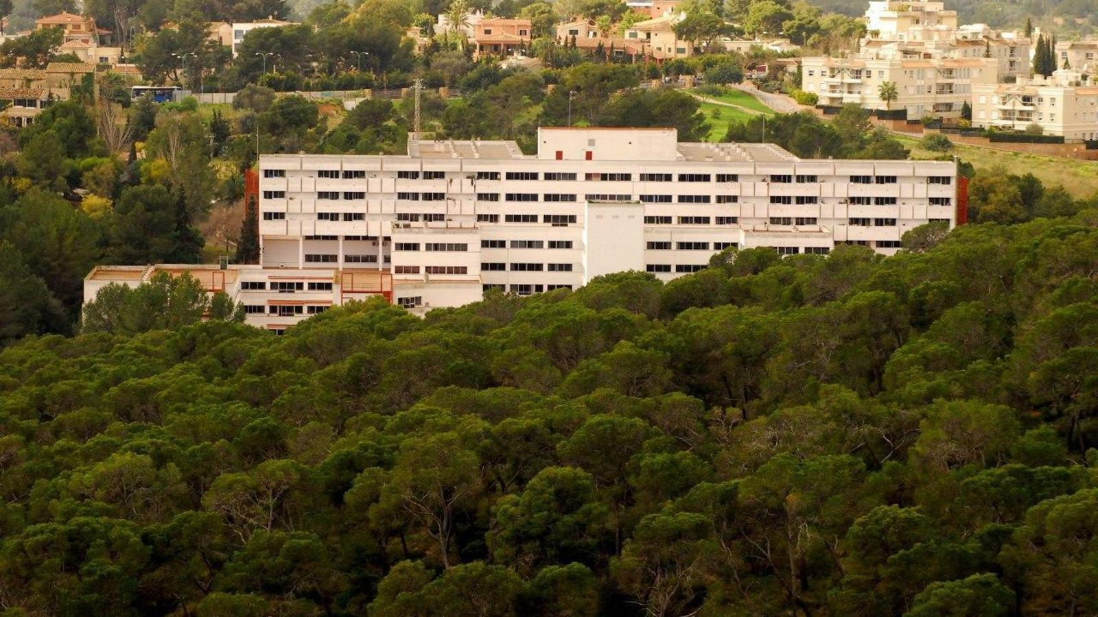 La residència de la Bonanova, a Palma
