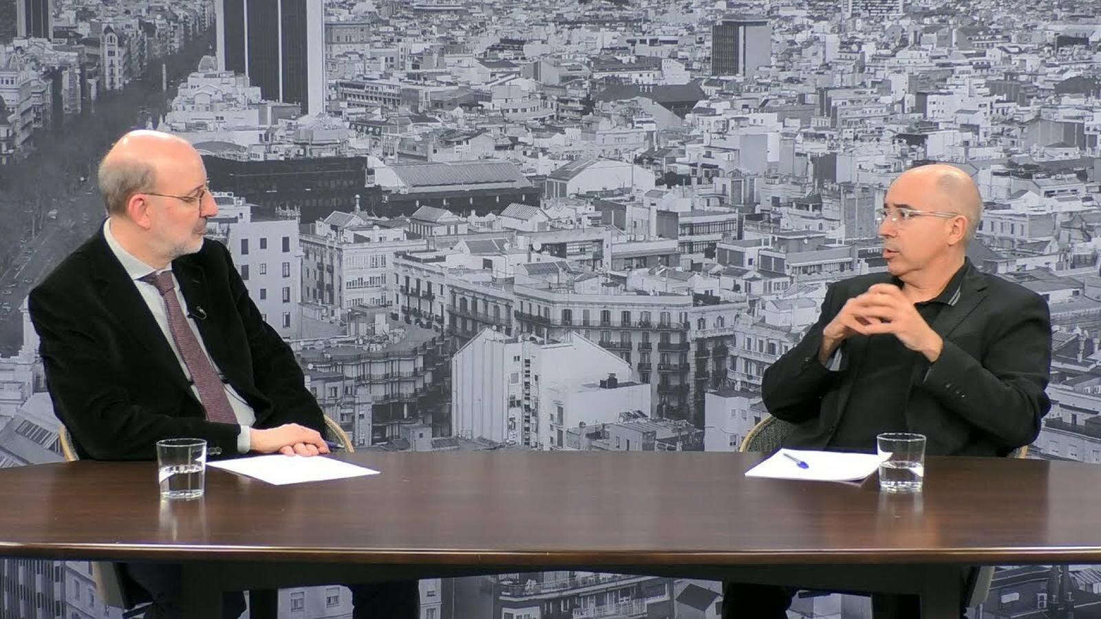 Entrevista d'Antoni Bassas a Xavier Casals