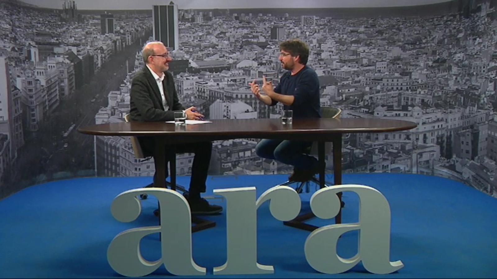 L'entrevista d'Antoni Bassas a Jordi Évole