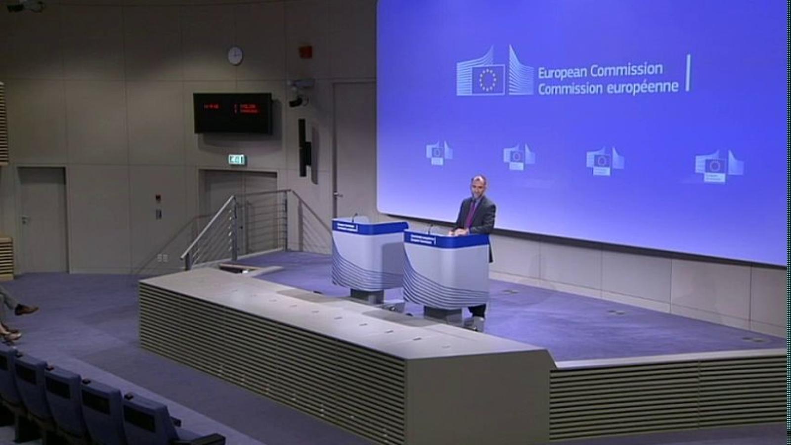 Brussel·les alerta que si una regió d'Europa s'independitza quedarà fora de la UE