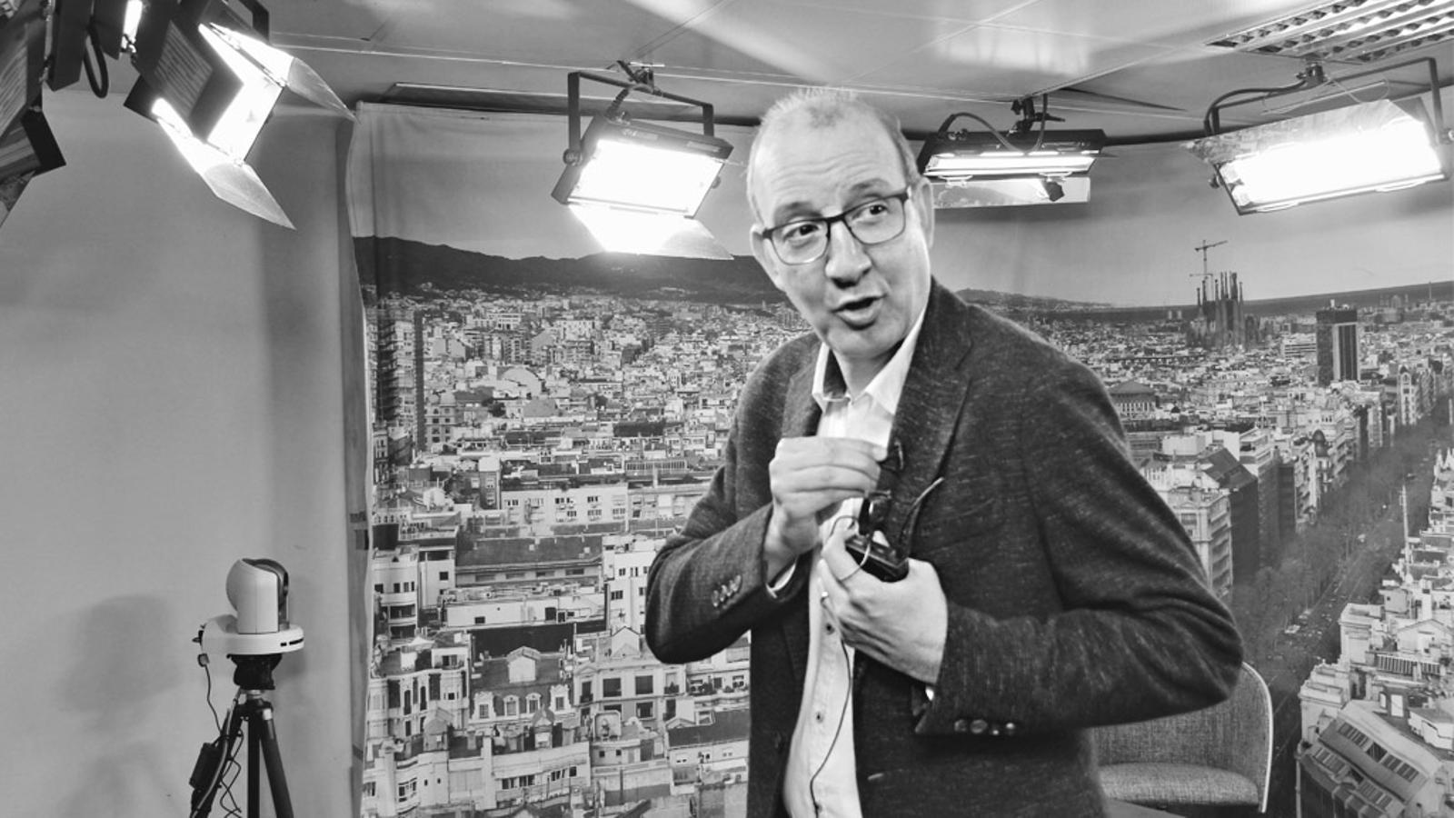 L'editorial d'Antoni Bassas: Parlant de perdre la paciència