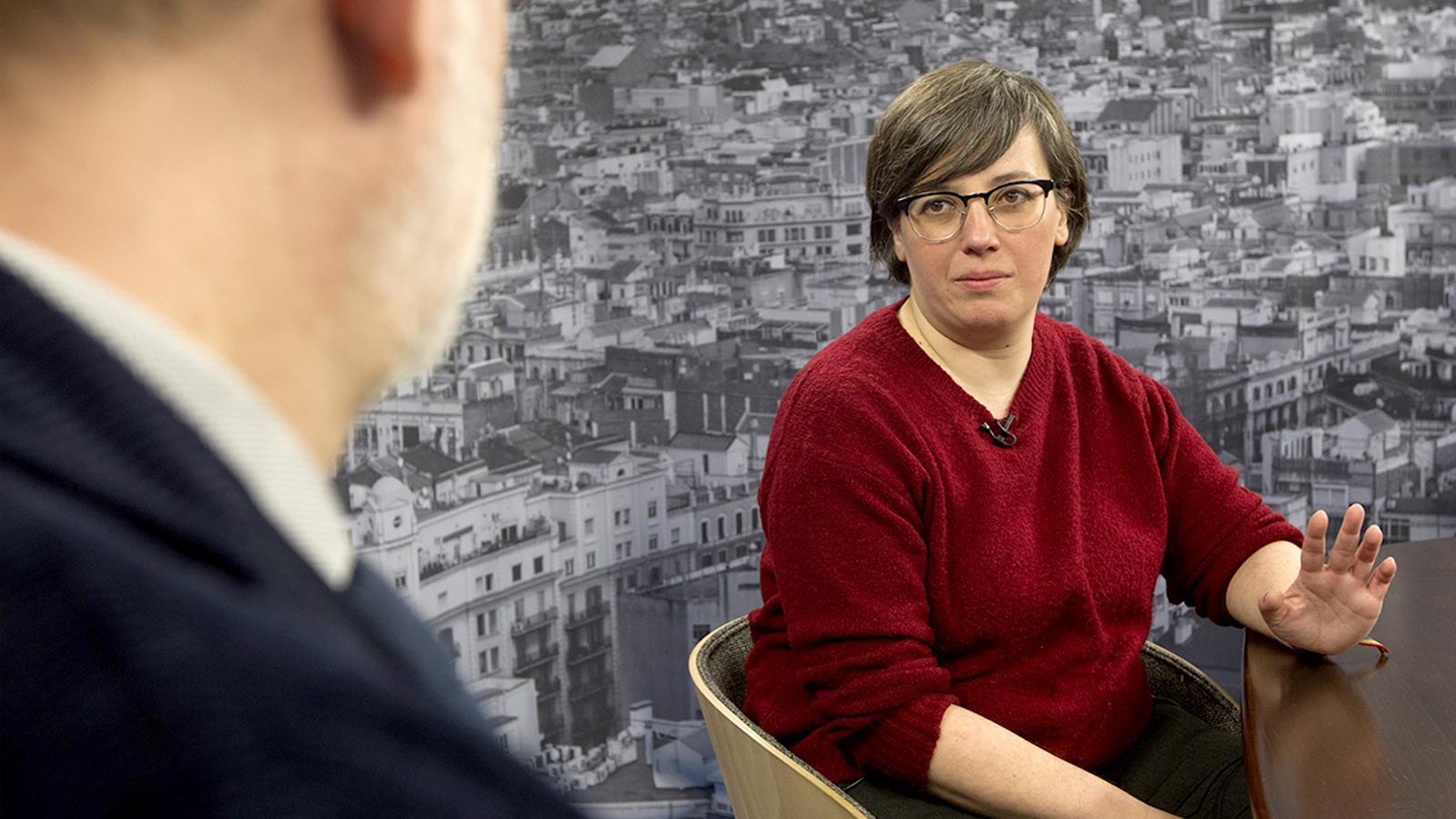 Entrevista d'Antoni Bassas a Mireia Boya