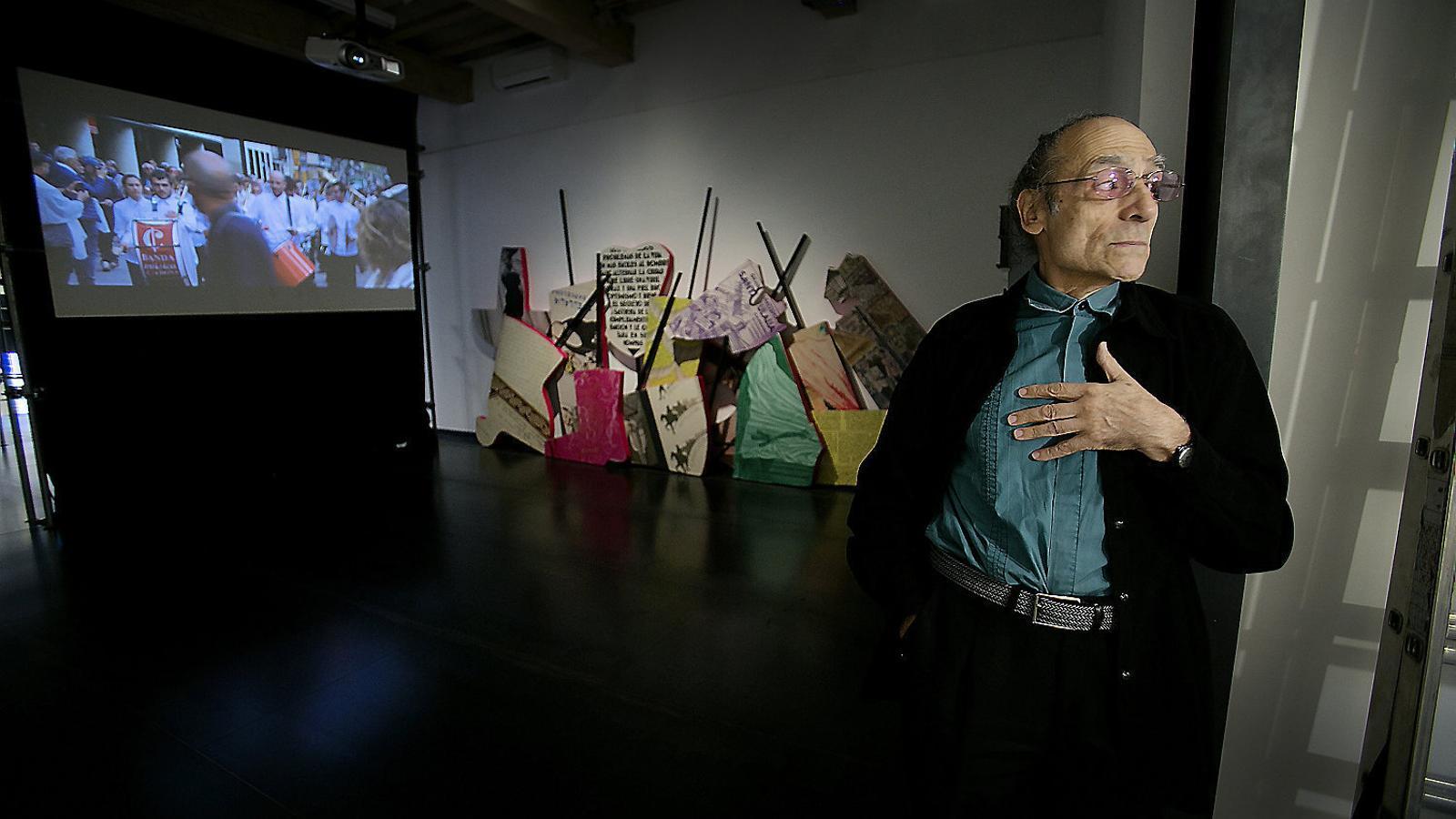 L'aventura d'Antoni Miralda d'exposar en una galeria
