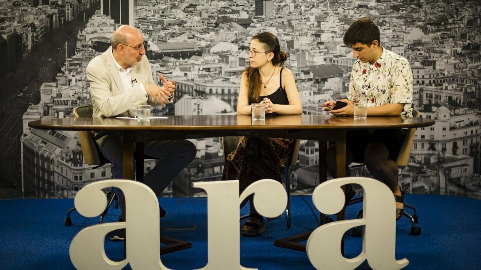 Entrevista d'Antoni Bassas a Gemma Barricarte i Guillermo Chirino