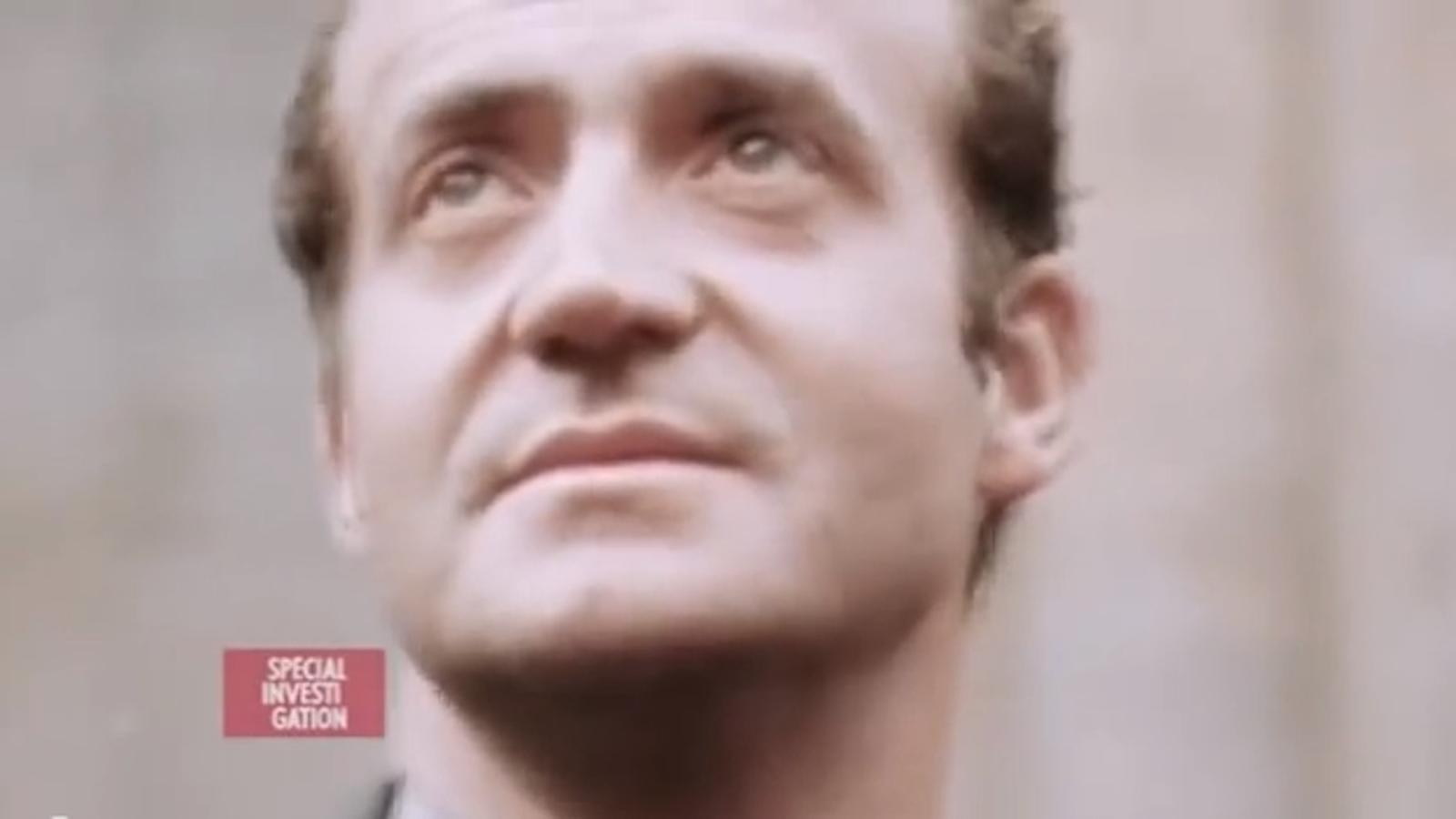 """La televisió francesa documenta el """"crepuscle"""" del rei Joan Carles"""
