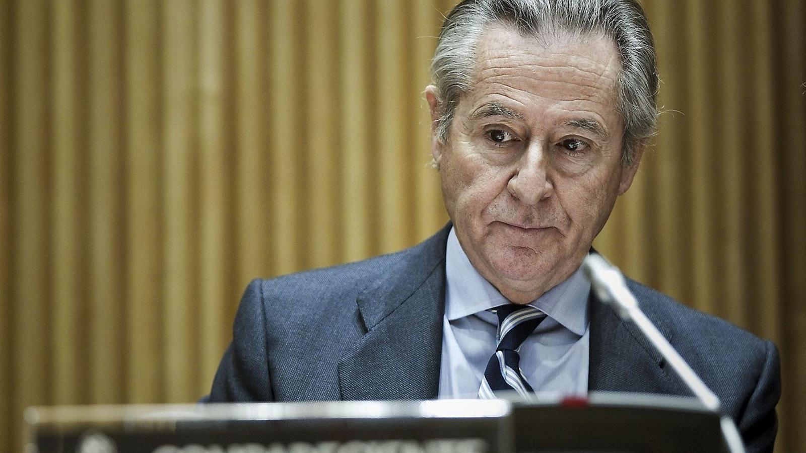 El jutge busca diners de Blesa a l'estranger per pagar la fiança