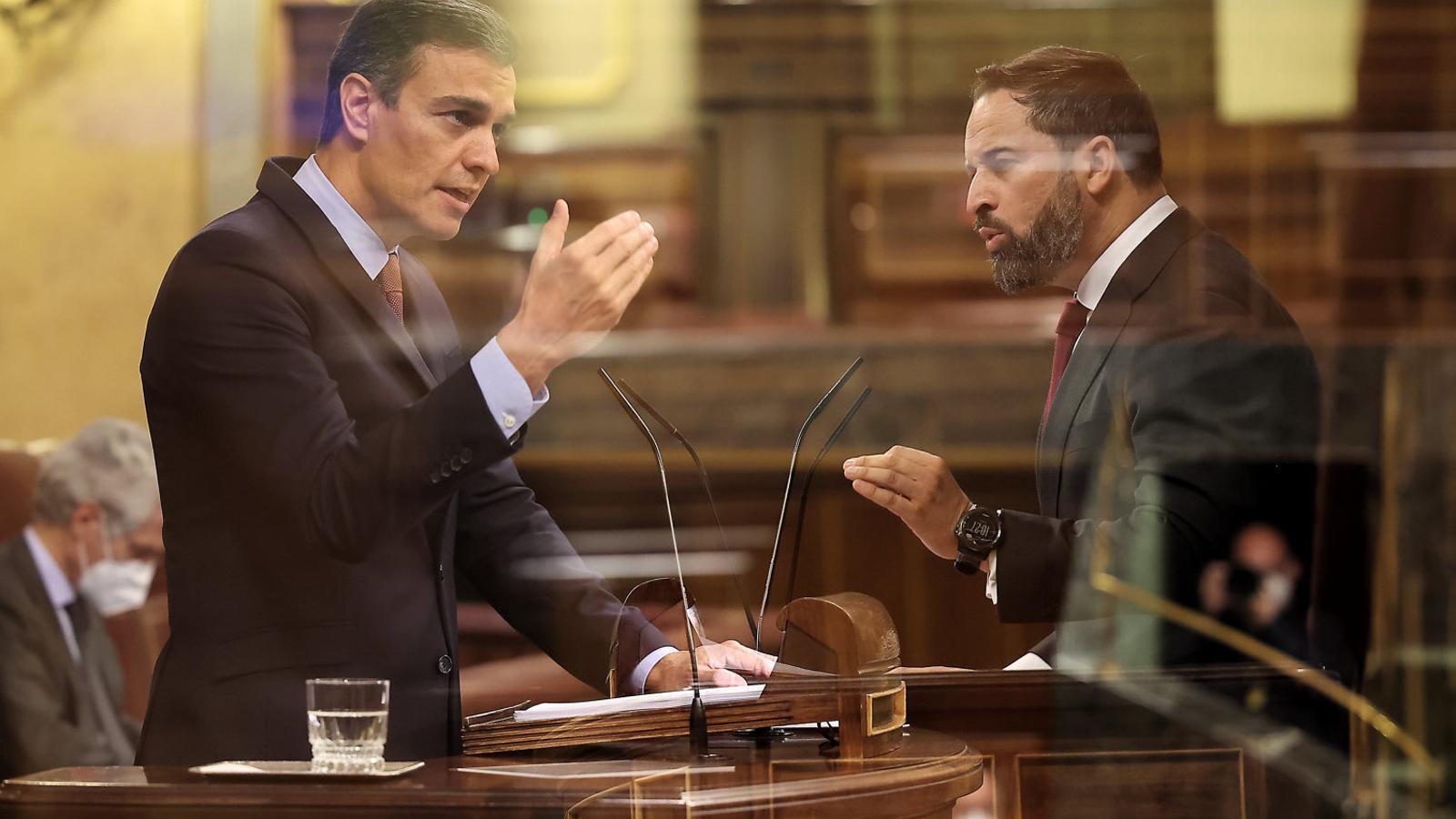 EN DIRECTE | Casado carrega contra Abascal i anuncia que el PP votarà 'no' a la moció de censura de Vox
