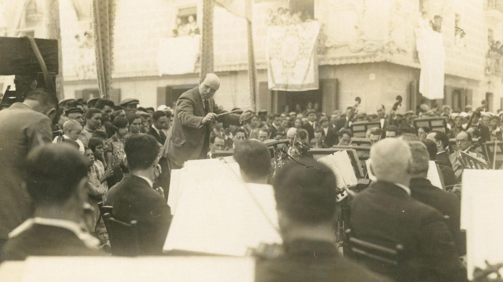 El concert del Vendrell del 10 de juliol de 1927