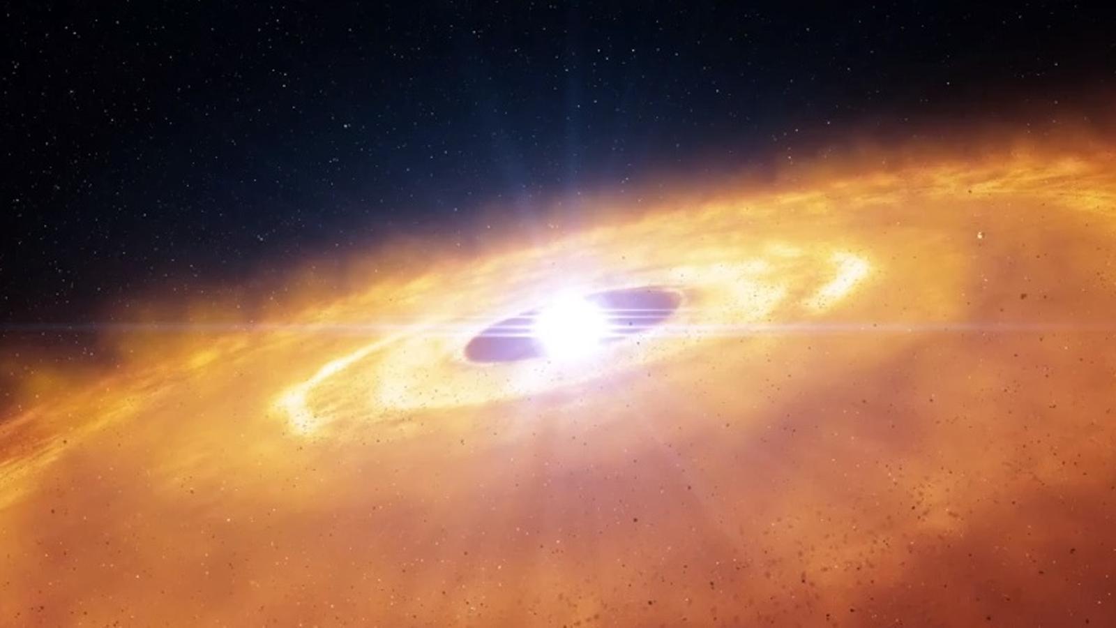 Un telescopi capta l'espectacular naixement dels planetes