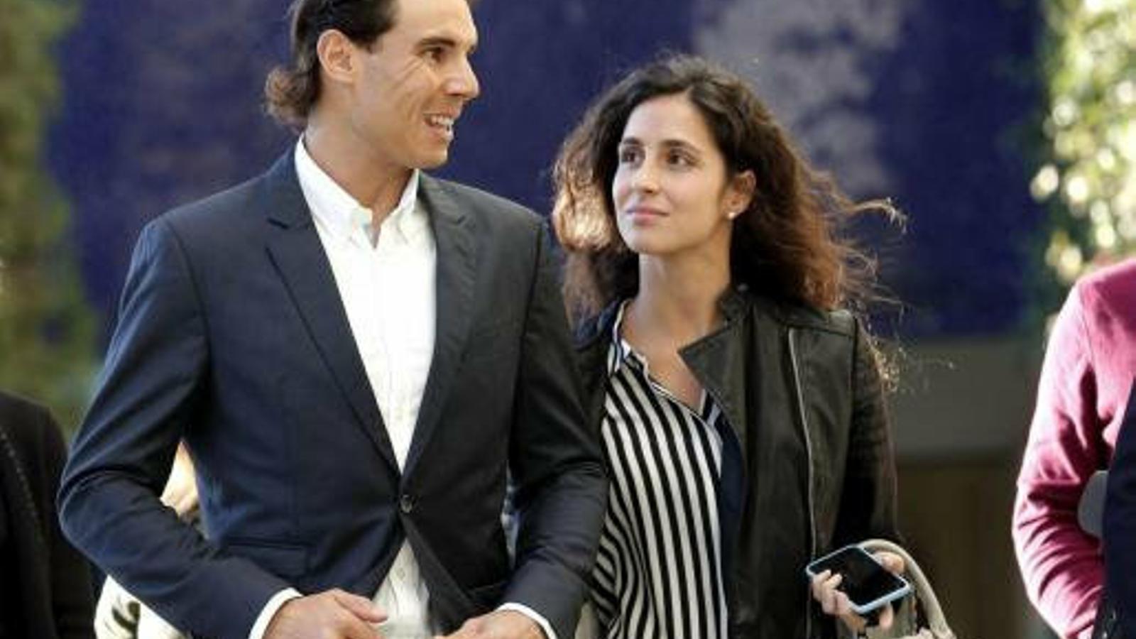 Gent Rafael Nadal i Francesca Perelló es casaran a  Sa Fortalesa  el 19 d'octubre