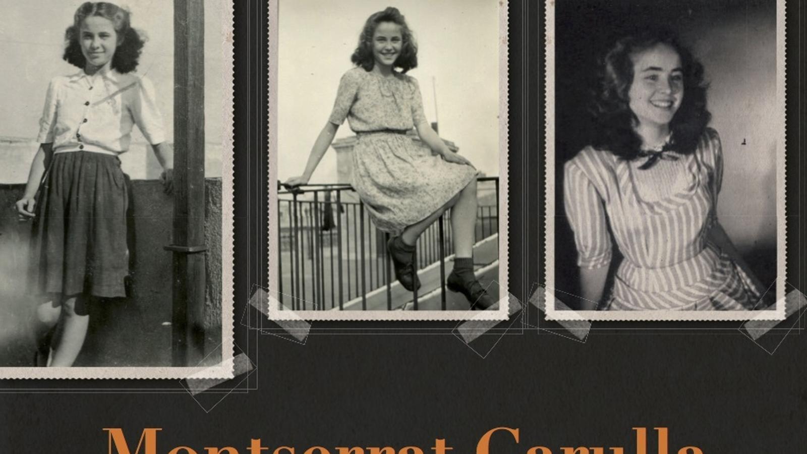 Portada de les memòries de Montserrat Carulla, 'El record és un pont al passat'