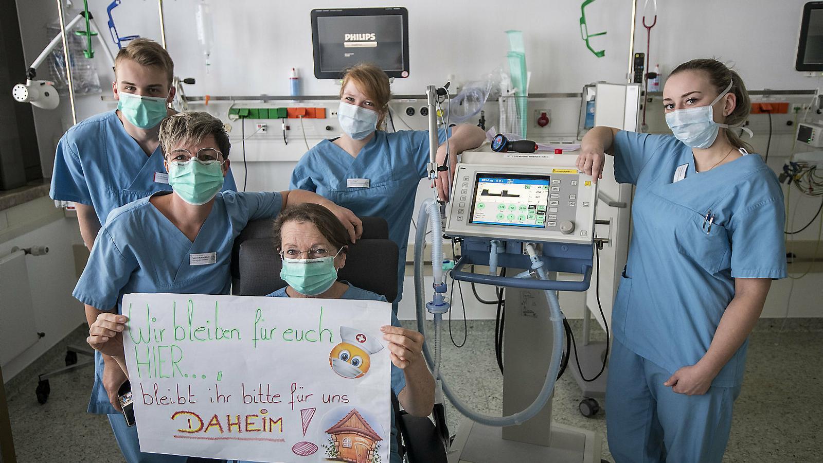 Alemanya: tants contagis com a Espanya però només 67 morts