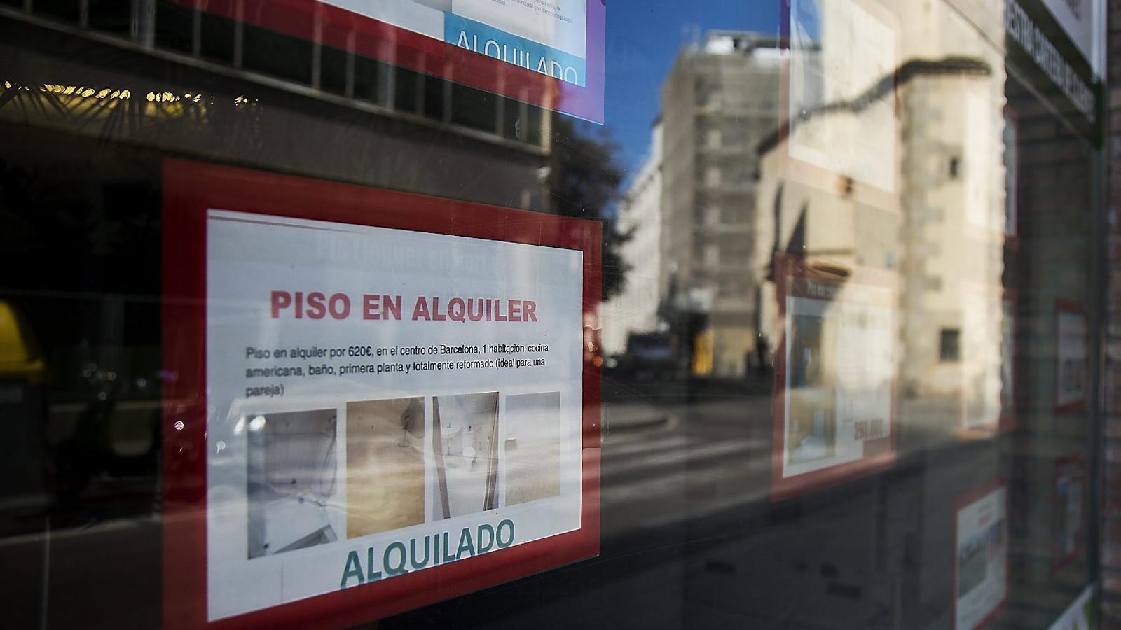 El  lloguer ha passat de representar el 15% del total del mercat residencial l'any 2011 al 23,5% el 2015, segons un estudi de Fotocasa.