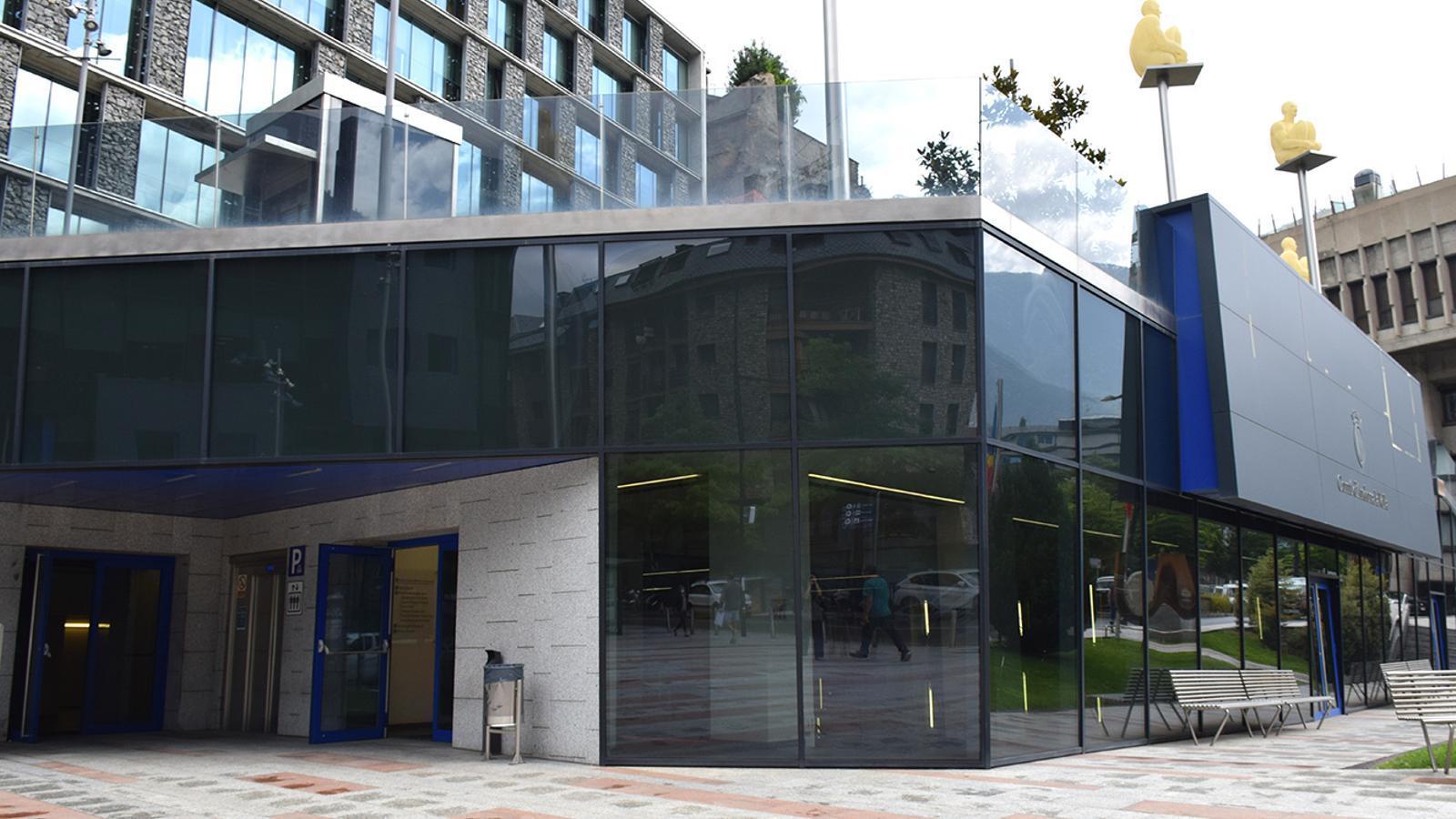L'edifici on s'ubicarà el centre interactiu de la bicicleta. / ANA