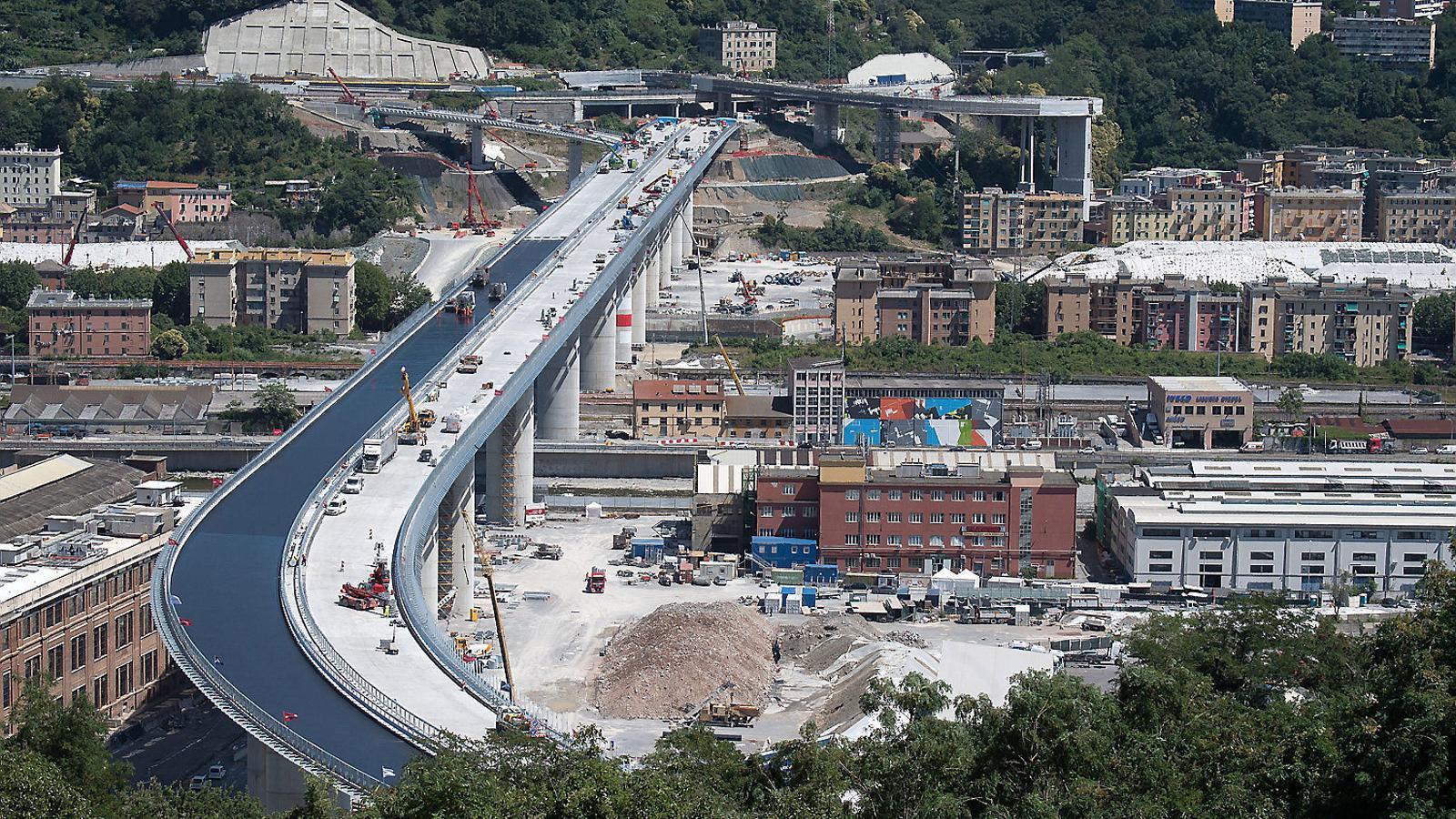L'ensorrament del Pont Morandi va provocar la mort de 43 persones.