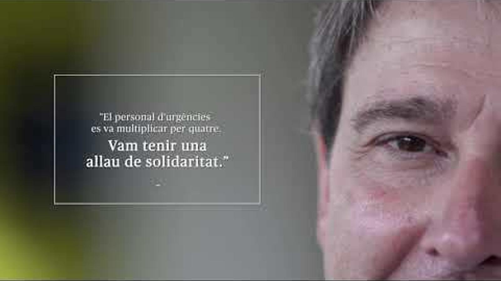 """Lluís Molina, cap de guàrdia el 17-A: """"Què més pots demanar a una feina que et permet tenir cura dels altres?"""""""