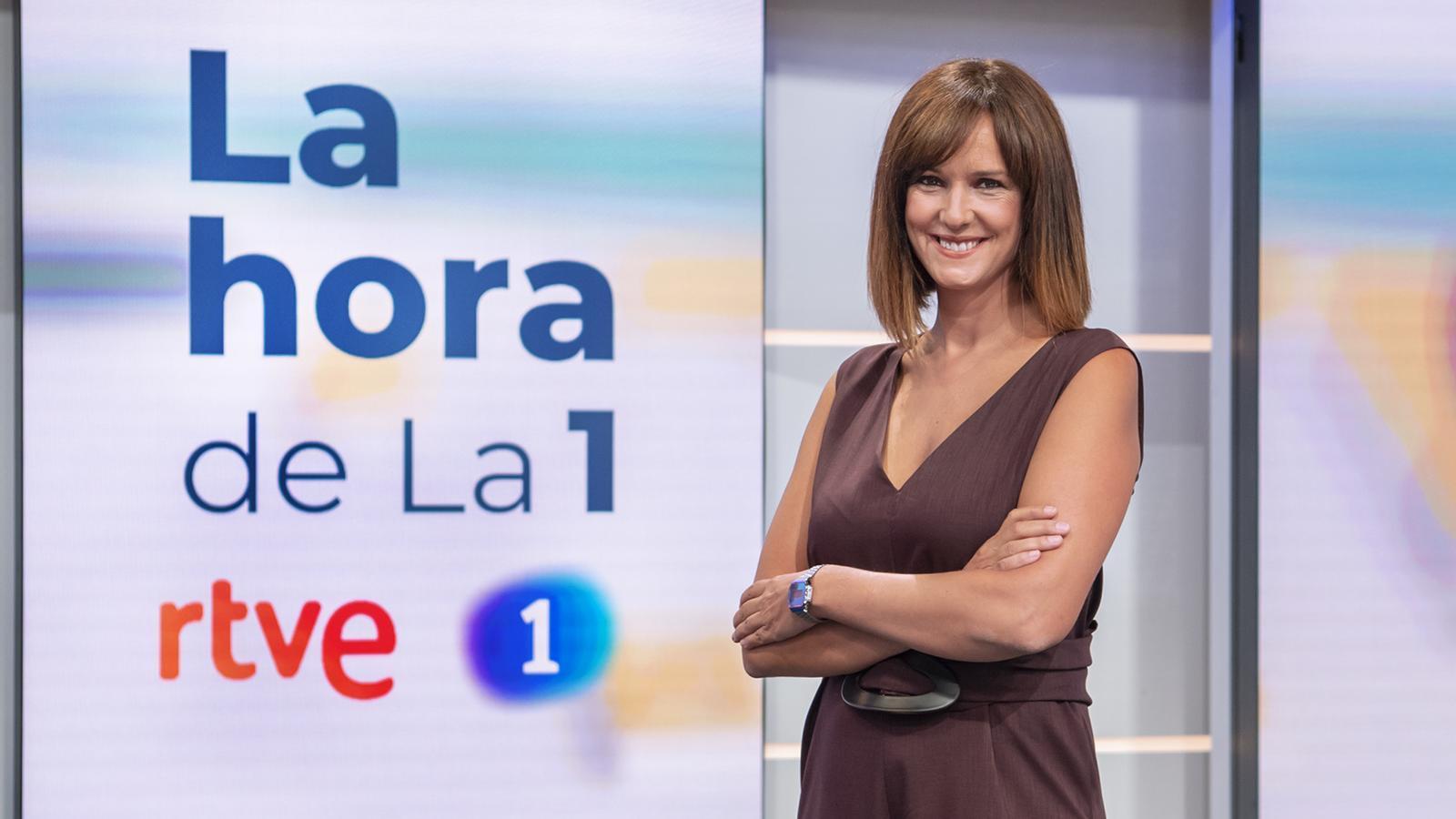 Mònica López, que durant els últims dotze anys ha sigut la cap de meteorologia de TVE, presentarà cada matí 'La hora de La 1'