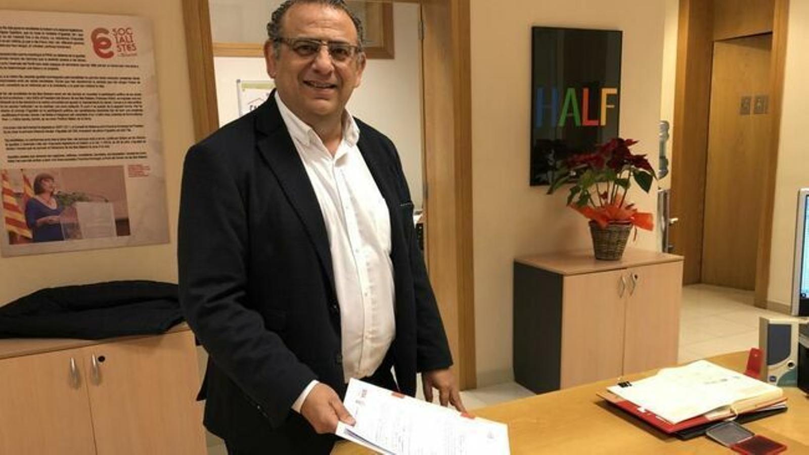 Alfonso Rodríguez podrà ser batle altres quatre anys.