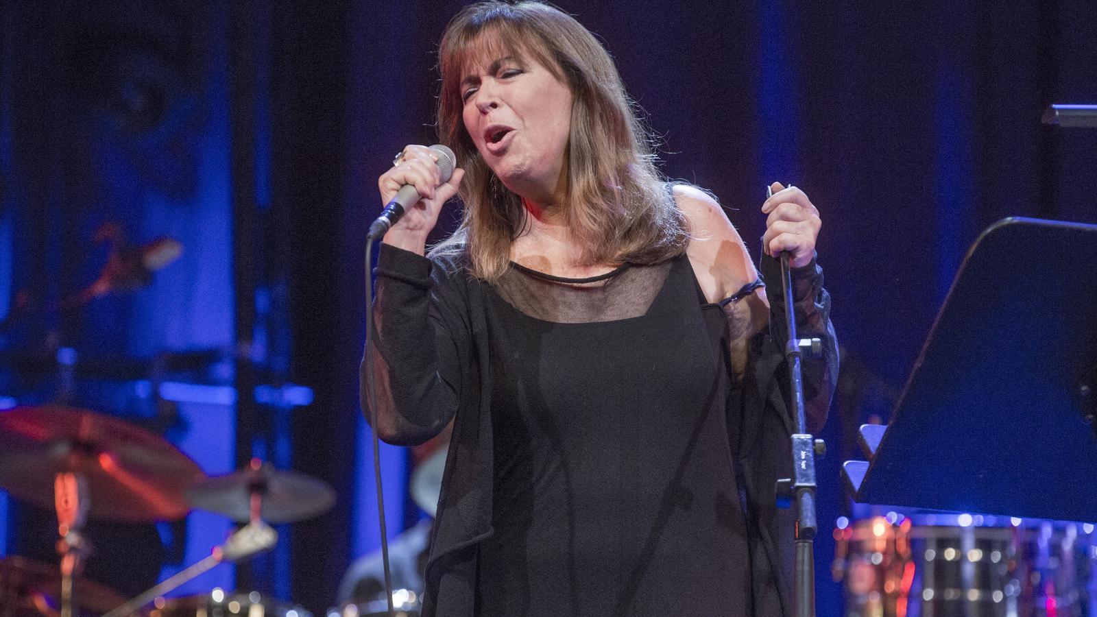 Maria del Mar Bonet, durant el concert d'ahir al Liceu