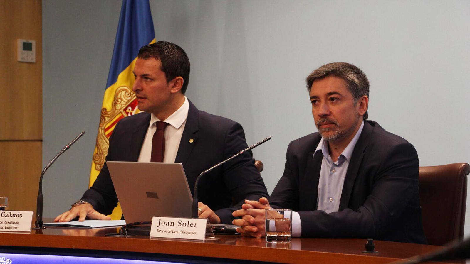 Economia i Empresa, amb Jordi Soler, director del departament d'Estadística. / M. R. F.