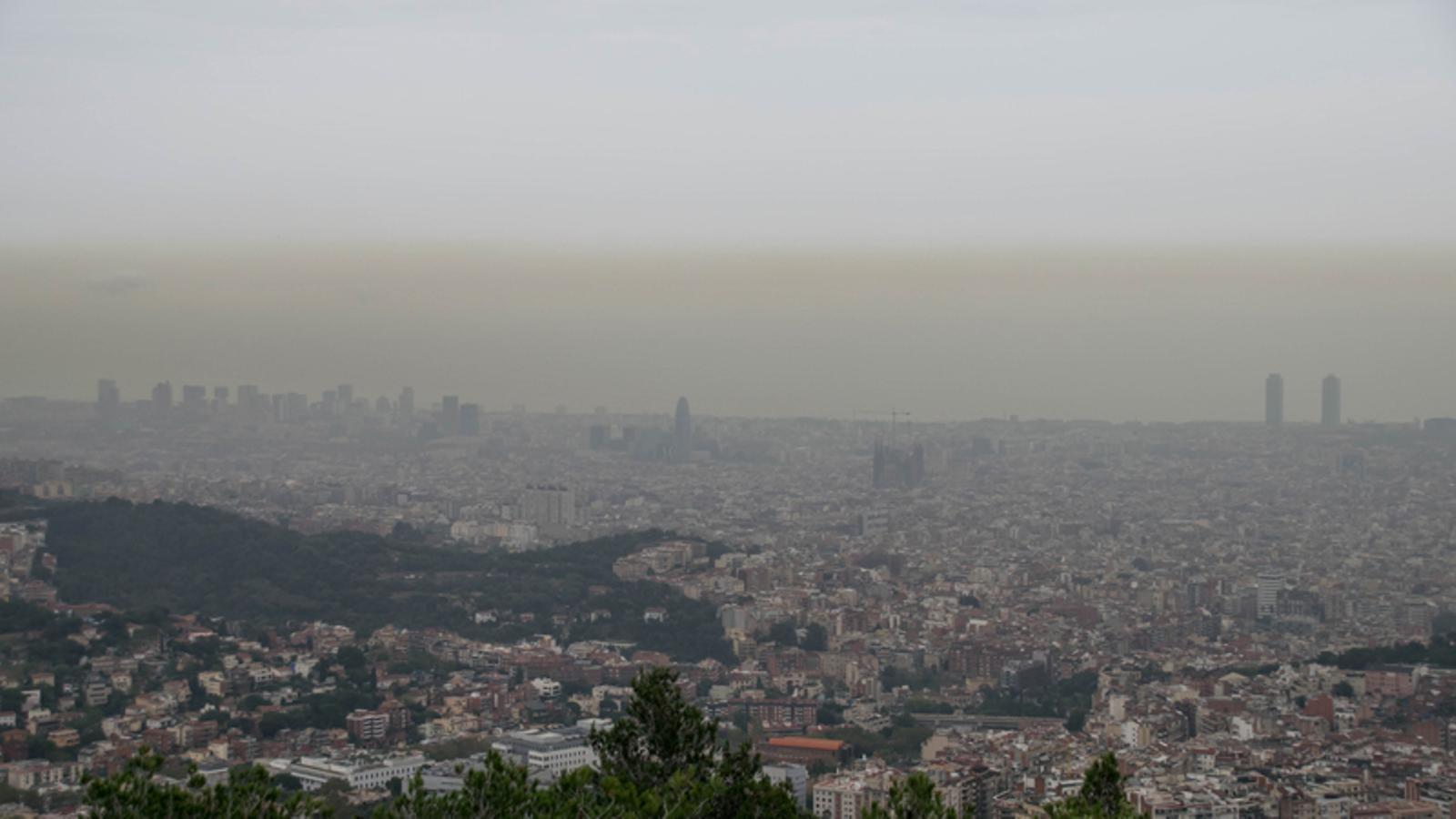 Una entrada d'aire saharià farà arribar pols del desert els dies vinents