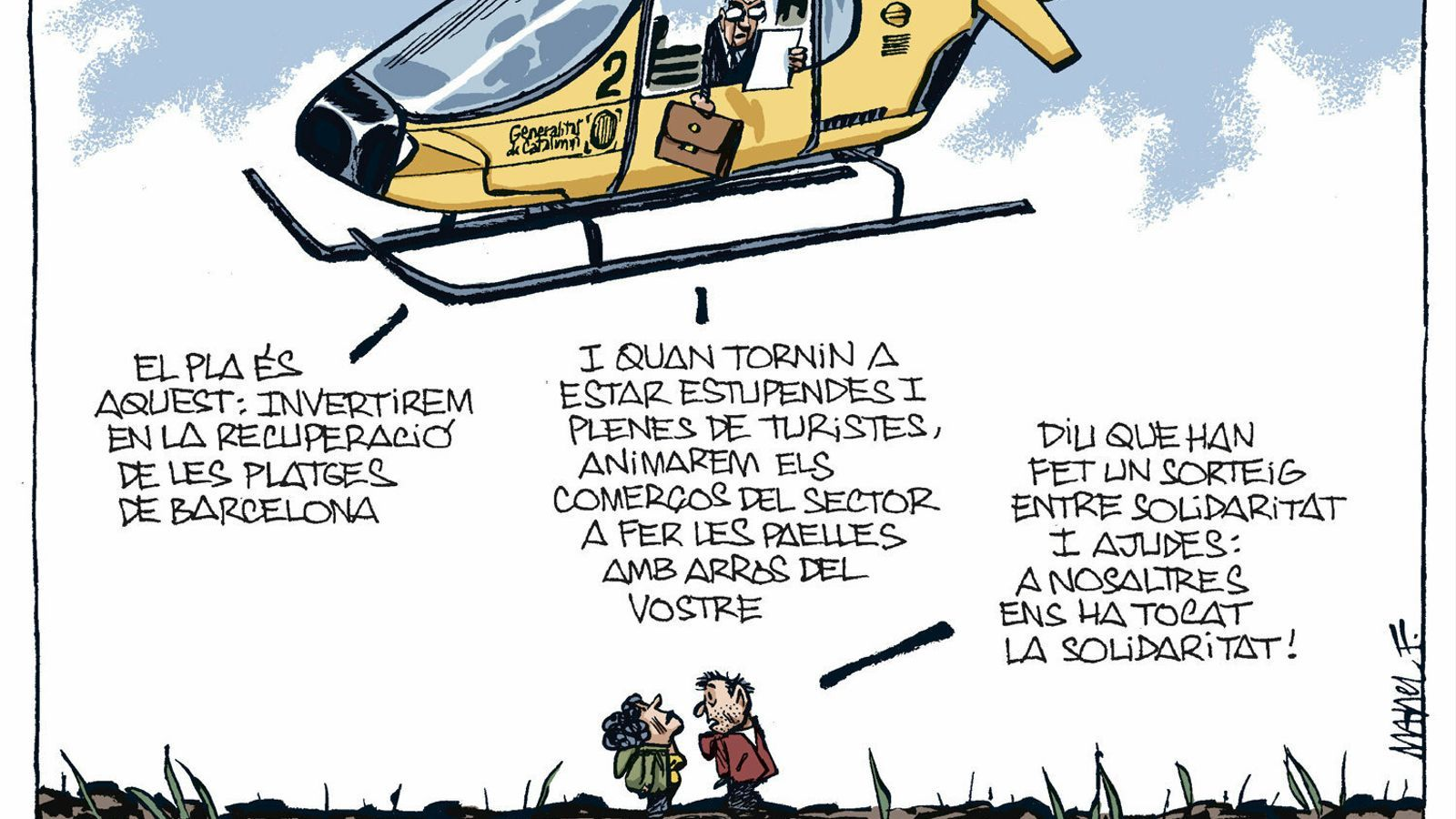La vinyeta de Manel Fontdevila 26/01/2020