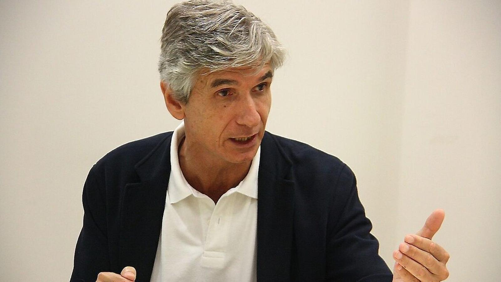 El secretari de Salut Pública, Josep Maria Argimon, en una imatge d'arxiu.