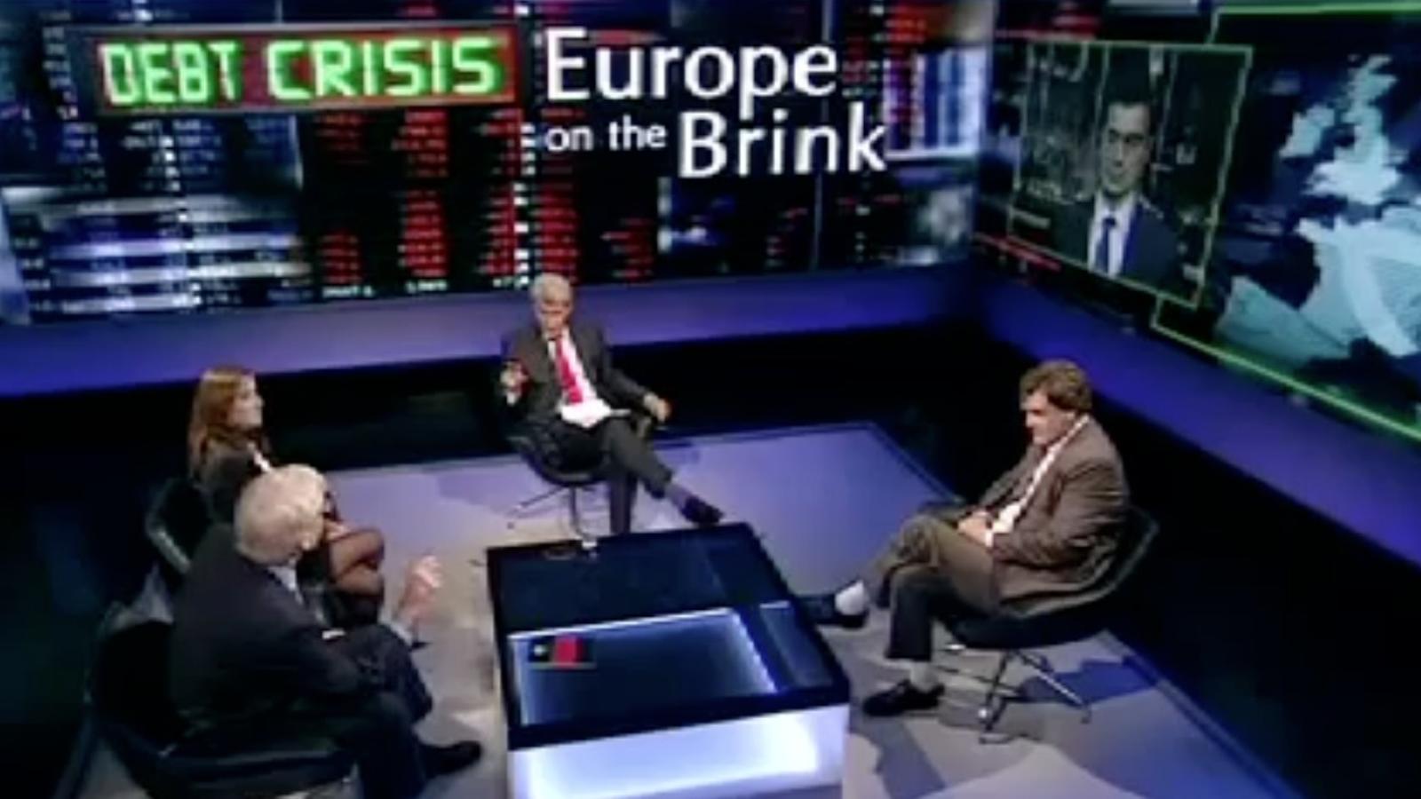 Un presentador de la BBC diu idiota al portaveu econòmic de la Comissió Europea, el català Amadeu Altafaj