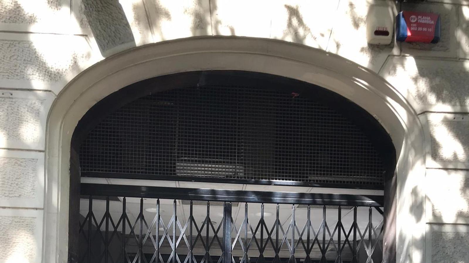 La façana dels Cinemes Méliès, actualment